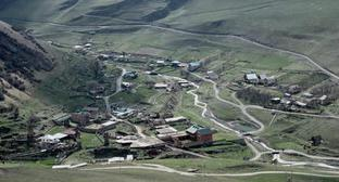 Village of Staraya Saniba in North Ossetia. Photo: Iosif Korotkij, https://ru.wikipedia.org
