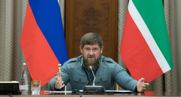 "Photo from Kadyrov's page on ""VKontakte"" https://vk.com/photo279938622_456282047?rev=1"