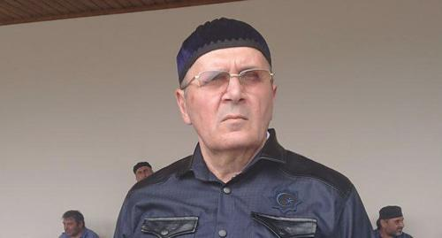 Oyub Titiev after he was released from the colony. Photo: HRC 'Memorial'