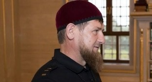 Ramzan Kadyrov. Photo by the press service of the Presidential Plenipotentiary Envoy to the North Caucasus Federal District https://commons.wikimedia.org/wiki/File:Matovnikov_in_Chechnya_(2018-07-12)_12.jpg