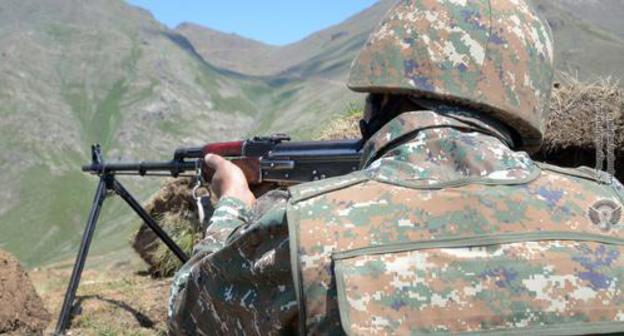 Azerbaijan claims gunfire attacks at two villages appear in argue district
