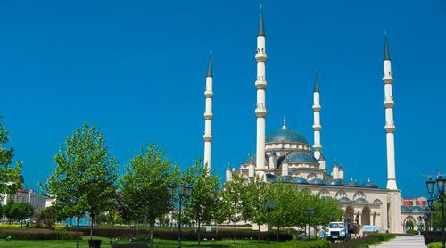 "The mosque, named ""The Heart of Chechnya"". Photo: pxhere.com"