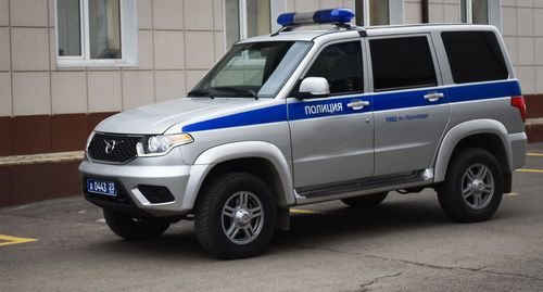 A police car. © Photo by Yelena Sineok, Yuga.ru