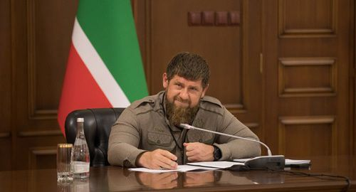 Ramzan Kadyrov. Photo from official VKontakte page, https://vk.com/photo279938622_456282134