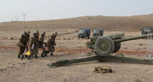 Armenian servicemen. Photo: press service of the Ministry of Defence of Armenia, http://www.mil.am