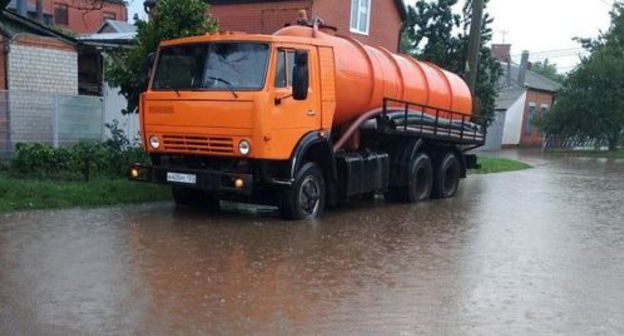 Caucasian Knot Krasnodar Residents Criticize Officials For Flooded Streets