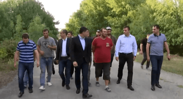 Eight Georgian citizens released from detention facility in Tskhinvali