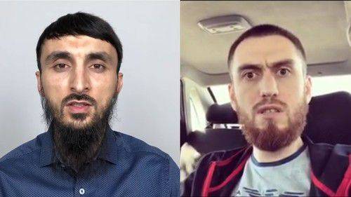 Tumso Abdurakhmanov (on the left) and Chingiz Akhmadov. Photos: screenshots of the videos https://www.youtube.com/watch?v=B0d3Li-O6oA and https://www.instagram.com/p/B05ghk9oGeE/