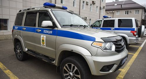 The police cars. © Photo by Yelena Sineok, Yuga.ru