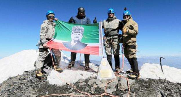 all the rage Chechnya, climbers advise en route for appoint bundle at the same time as Kadyrov's climax