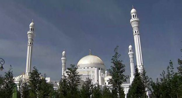 Caucasian Knot Shali Mosque S Scale Provokes Doubts About Justification Of Its Construction