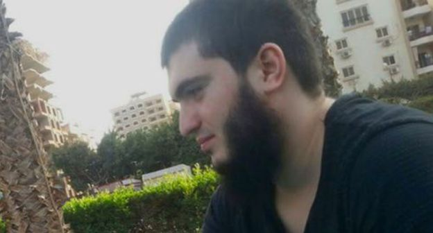Ali Bakaev. Screenshot of the video by ABU-SADDAM SHISHANI https://www.youtube.com/watch?v=C4lYmP-stkQ