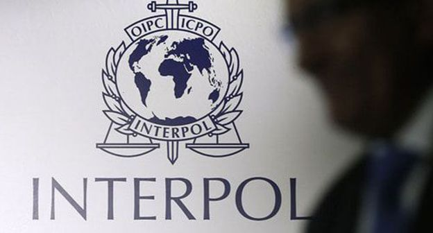 Interpol logo. Photo: REUTERS/Edgar Su