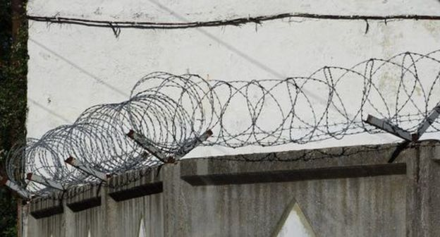 High security prison fence. Phot by Nina Tumanova for the Caucasian Knot