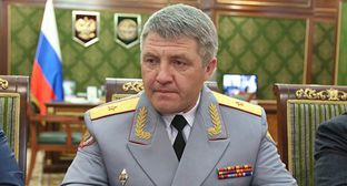 Ruslan Dzeitov. Photo by the press service of the head of Ingushetia http://www.ingushetia.ru/