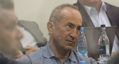 "Robert Kocharyan in the courtroom. Photo by Tigran Petrosyan for the ""Caucasian Knot"""