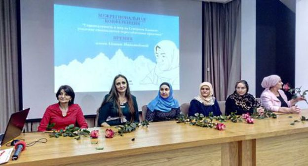 Dagestani nominees of Aishat Magomedova accolade ability to speak absent central problems of Caucasian women