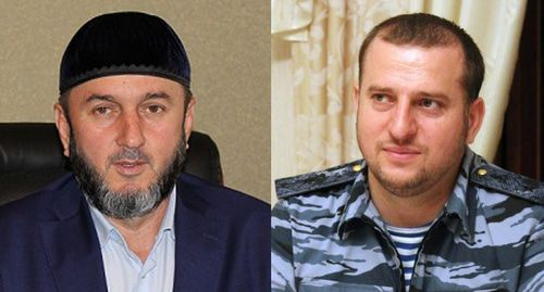 Valid Abdureshidov (left) and Apti Alaudinov. Collage by the Caucasian Knot. Photo: press service of the United Russia Party, https://chechen.er.ru/persons/19000/, Rustam Djalilov, http://kavpolit.com