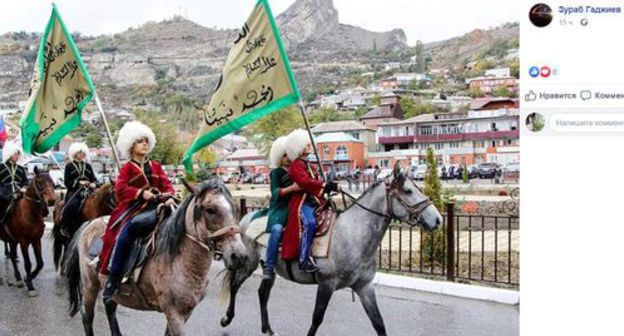 Historians stage equestrian ride in honour of Shamil amid disputes with Kadyrov
