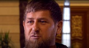 Ramzan Kadyrov. Screenshot of the video by the BBC News Russian https://www.youtube.com/watch?time_continue=93&v=jp65fNM4Mj8