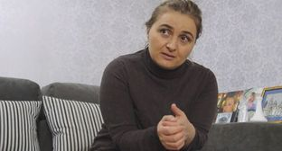 "Tamara Mearakishvili. Screenshot of the video by the ""Caucasian Knot"" https://www.youtube.com/watch?v=yhDZ-8EhtQ0"