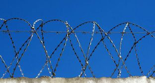 "Barbed wire. Photo by Nina Tumanova for the ""Caucasian Knot"""