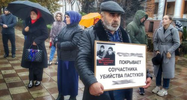 Thirty-five Makhachkala residents assist Gasanguseinovs' by yourself pickets