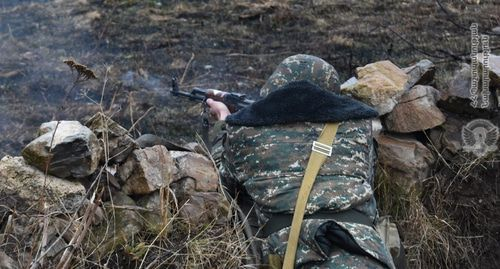 Armenian Army serviceman. Photo: http://www.mil.am/hy/news/7148
