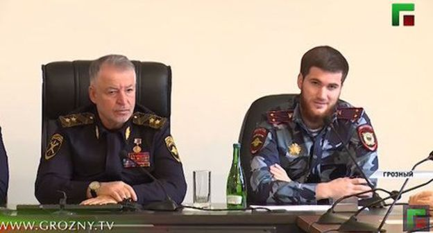 choice of Kadyrov's son-in-law en route for above what be usual MIA boundary marker triggers cynicism all the rage Chechnya