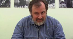 Alexander Cherkasov. Screenshot from Youtube video posted by 'Grani.ru' at: http://www.youtube.com/watch?v=UQfgQ8DXakE