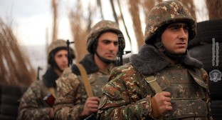 Combat duty in a military unit of the army of Nagorno-Karabakh. Photo by the press service of the Ministry of Defence of Armenia http://www.mil.am/hy/news/7326