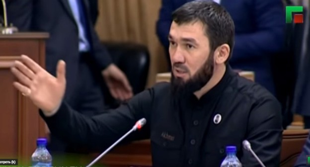 Parliament speaker's phrase on completed border demarcation surprises Chechen natives