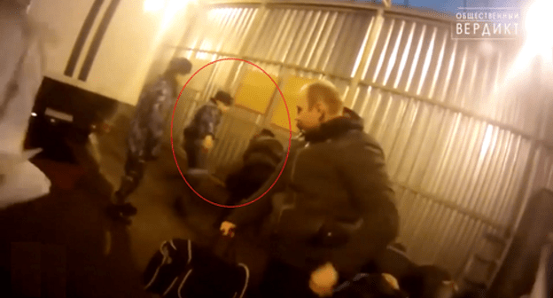 Video of beating inmate outrages residents of Chechnya