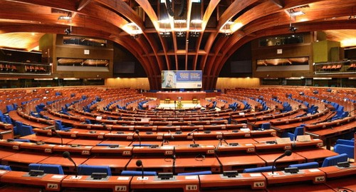 PACE conference room. Photo: Adrian Grycuk, https://commons.wikimedia.org/w/index.php?curid=36038403