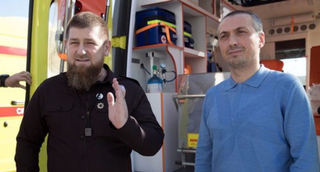 Video with Ramzan Kadyrov, first within 11 days, proves version of his illness