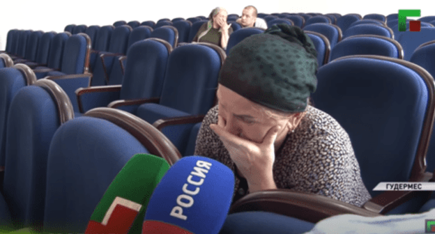 Chechen woman repents in public of resorting to services of a witch