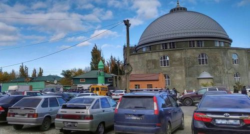 "The Makhachkala ""Tangim"" Mosque. Photo by Ilyas Kapiev for the ""Caucasian Knot"""