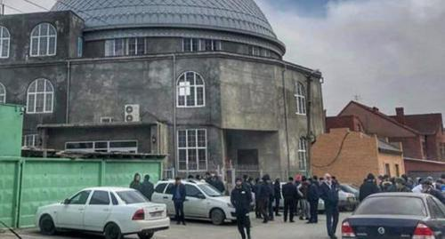 "The ""Tangim"" Mosque in Makhachkala, March 2020. Photo by Magomed Akhmedov for the Caucasian Knot"