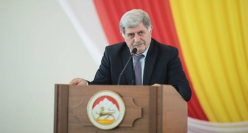 Erik Pukhaev, head of the Council of Ministers of South Ossetia. Photo by the government of the Republic of South Ossetia