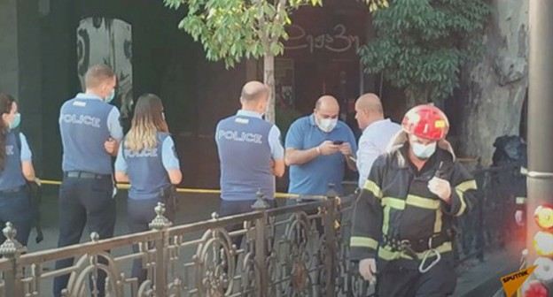 "In Tbilisi, one person was killed and three others were injured in an explosion of an oxygen cylinder at the ""Dejavu"" club, where the repairing works were being carried out."
