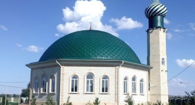 Mosque in the village of Mirny. Photo: press service of the Spiritual Administration of Muslims  of the Stavropol Territory