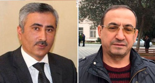 "Fuad Gakhramanly, Mamed Ibragim. Photos: https://www.turan.az/ext/news/2020/8/free/Social/en/126400.htm, https://www.turan.az/ext/news/2020/7/free/politics%20news/ru/126158.htm, collage by the ""Caucasian Knot"""