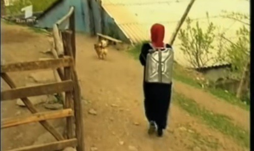 "Frame from the documentary ""The Fate of a Dagestani Woman"": https://youtu.be/mebL4D-qkmE"