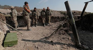 On the line of contact with Nagorno-Karabakh. Nagorno-Karabakh, October 20, 2020. Photo: REUTERS/Stringer