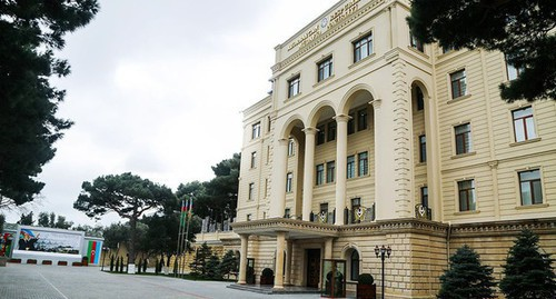 Ministry of Defence of Azerbaijan. Photo: press service of the Ministry of Defence of Azerbaijan, https://mod.gov.az/