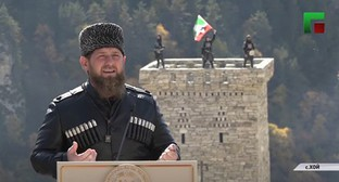 Ramzan Kadyrov. Screenshot: https://www.youtube.com/watch?v=sJG3wzEt2-0