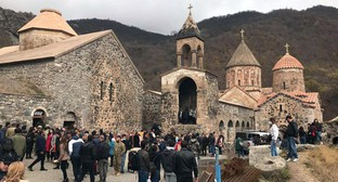 The Armenian Apostolic Church, November 13, 2020. Photo by Alvard Grigoryan for the Caucasian Knot