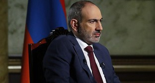 Nikol Pashinyan. Photo by the press service of the Government of Armenia https://www.primeminister.am/ru/interviews-and-press-conferences/item/2020/11/13/Nikol-Pashinyan-Interview/