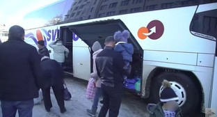 Refugees in Stepanakert. Screenshot: https://www.youtube.com/watch?v=3FTLA7A6gyk