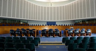 The conference room in the European Court of Human Rights (ECtHR). Photo: CherryX https://ru.wikipedia.org/wiki/Европейский_суд_по_правам_человека